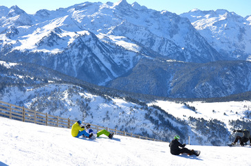Season with lots of snow and more skiers at Baqueira Beret