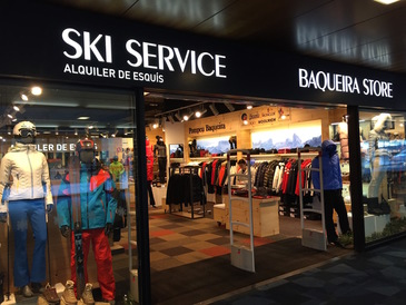 Ski Service Baqueira Store, service and equipment at the foot of the runs